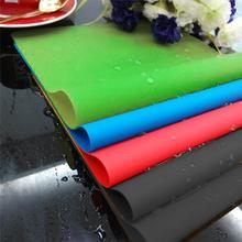 1Pcs Waterproof Silicone Non Slip Dining Table Mat Placemat Resistant Table Place Mat Dish Bowl Heat Resistant Pad 360 X 220mm(China)