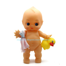 size 23cm Bathe Dolls Kewpie Antique Action Figures Kids Bathing Toy Birthday Gift For Children(China)