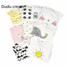 2016 Autumn And Winter Korean New Pattern Male Girl Increase Furnishing Serve Pure Cotton Children's Garment Baby Pajamas Suit(China)
