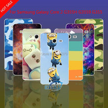 For Samsung Galaxy Core 2 G355H G3559 G3556D G355 Case Leopard Skull Cat Lotus Flower Rainbow Hard Cell Phone Case