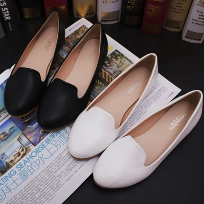 Womens Microfiber Flattie Ultra size 34-44 Round Toe Breathable Lady Single Shoes Driving Dancing Slip-On Comfortable Footwear<br><br>Aliexpress