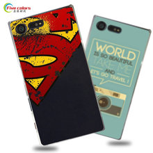 Buy Hard Plastic phone bag case Sony Xperia X Compact Fashion UV Printing Cartoon back cover Sony Xperia X Compact case for $3.99 in AliExpress store