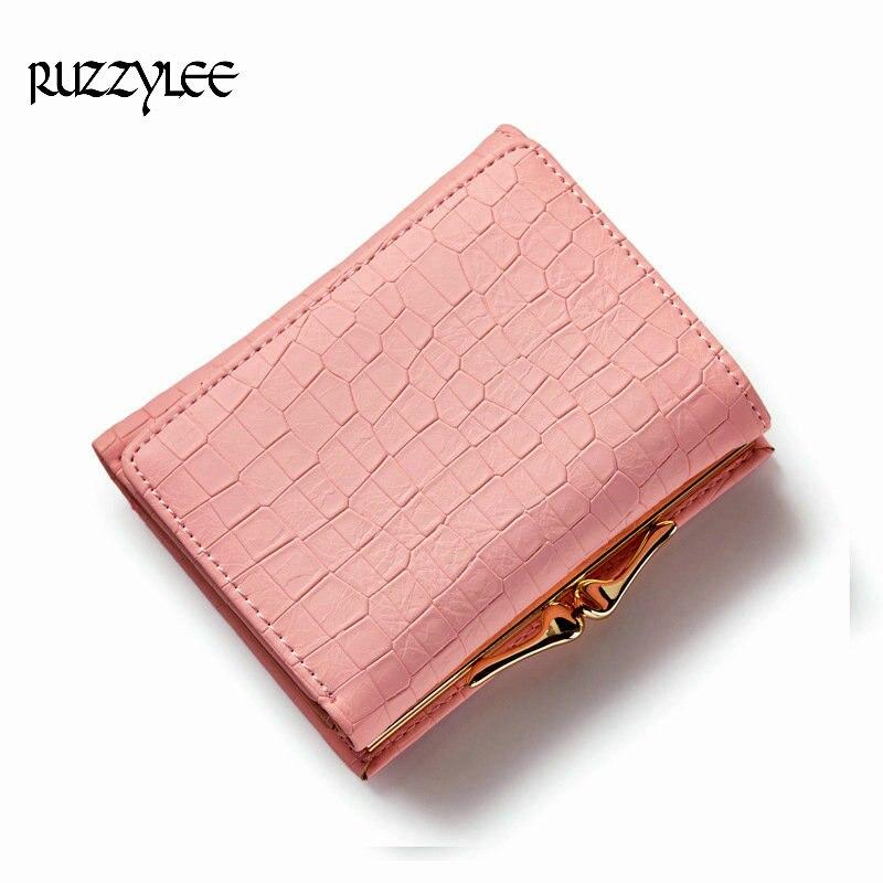 2017 New Brand Mini Hasp Female Leather Wallet Crocodile Patter Women Small Luxury Women Purse Lady Short Clutch Womens Wallets <br><br>Aliexpress