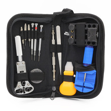 High Quality 13 Pcs Watch Repair Kit Open The Cover Split the strap Change the battery(China)