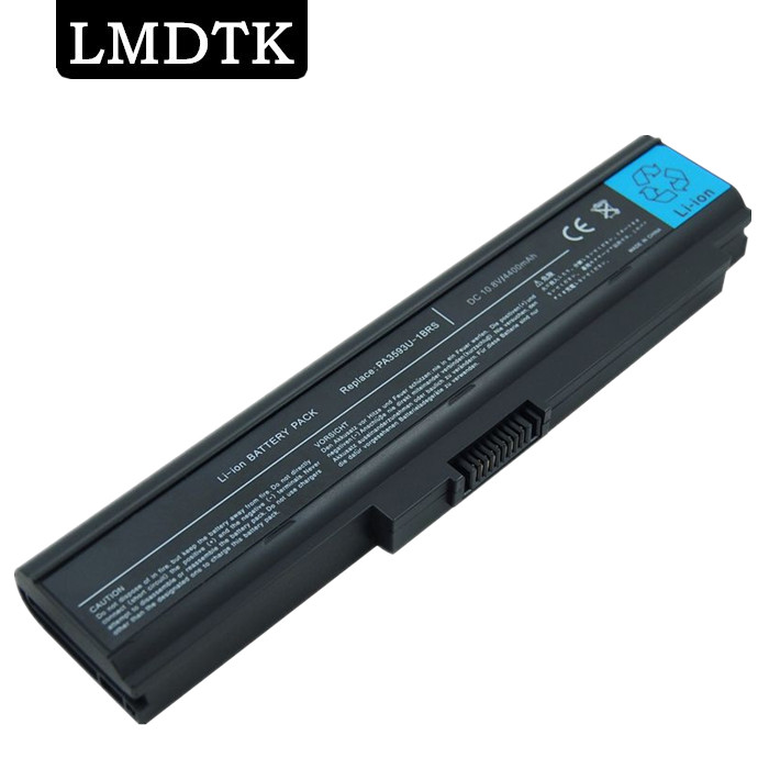 LMDTK new Laptop Battery Toshiba PA3593U-1BAS PA3594U-1BRS PA3593U-1BRS PA3595U-1BRS U300 Series 6-CELLS  -  MING XUAN (HK store INTERNATONAL LTD)