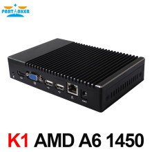 Mini PC Windows 10 Linux A6-1450 Quad Core GPU Radeon HD 8250 Smart Kit Pocket PC HTPC HDMI VGA Support PXE boot/Wake-on Lan