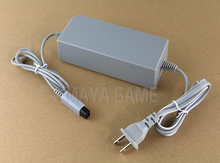 US Plug&EU Plug Replacement Wall AC Power Charger Adapter Supply Cable Cord AC 100~240V for Nintendo Wii console