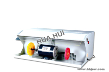 220V 550W 1/2 HP Jewelry Polishing Machine with Dust Collector, Jewelry Making Tools Bench Grinder