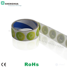 50pcs/pack Ultralight Disposable UHF RFID NFC Tag Sticker Programmable Encoded High Sensitivity Passive RFID Label
