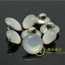DIY Apparel Sewing 10mm 15 mm Pure copper color plastic bead children shirt button buttons 200pcs/lot(China)