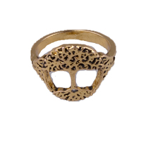 Dawapara Tree Of Life Ring Antique Gold-color Detailed Knot Women Fashion Rings Wholesale Dropship Suppliers