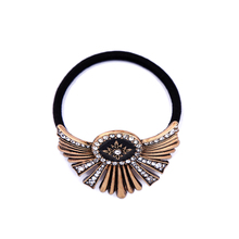 Big Alloy Enamel Charm Vintage Hairband Fashion Online Shopping India Women Hair Accessories wholesale