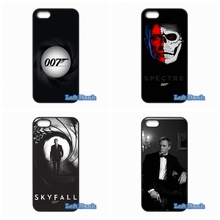 007 James Bond Skyfall Hard Phone Case Cover For Huawei Ascend P6 P7 P8 Lite P9 Mate 8 Honor 3C 4C 6 7 4X 5X G7 G8 Plus