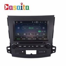 "8"" Android 7.1 Car DVD player GPS for Mitsubishi Outlander 2007-2011 Car 2 din radio multimedia 2Gb+16Gb 64bit PX3 4G net(China)"