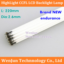 10PCS/LOT Free Shipping  CCFL LCD Backlight Lmap 220mm*2.5mm  / 10 inch 10.4 -inch bright LCD cold cathode lamp