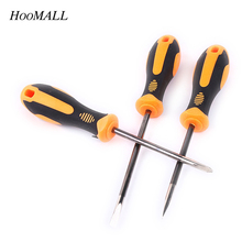 Hoomall Slotted Phillips Screwdriver High Quality Steel Hardness Practical Multi-Function Screwdriver Set Hand Tools(China)