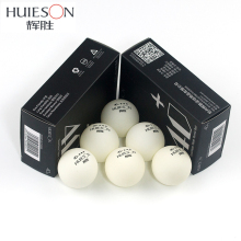 Huieson 6Pcs/Pack Seamless Plastic Table Tennis Balls 40+ 2.8g New Poly Ping Pong Ball for Table Tennis Club Training