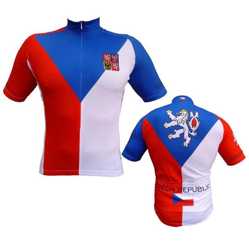 Cycling Jersey 2019 Men Bike Jersey Top Israel Czech Republic USA UK Colombia