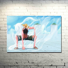 One Piece Strong World Characters Art Silk Fabric Poster Print 13x20 24x36inch Monkey D Luffy ACE Boa Hancock Nami Pictures 007(China)