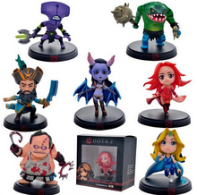 7pcs/Set DOTA 2 Game Figure Faceless Void Crystal Maiden Kunkka Lina Pudge Queen Tidehunter PVC Action Figures Collection Toys(China)