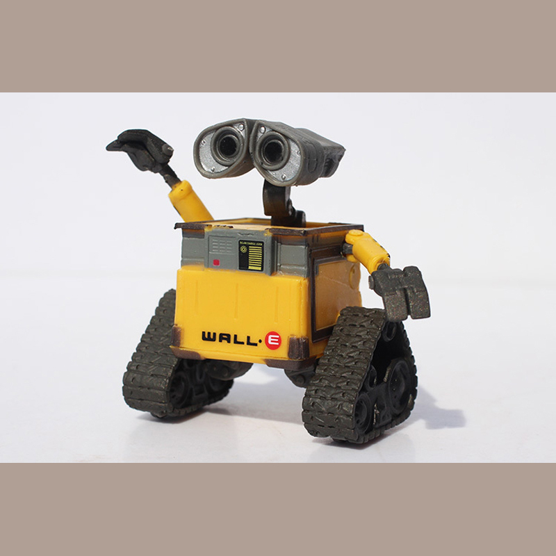 Free Shipping Wall-E Robot Wall E PVC Action Figure Collection Model Toy Doll 6cm OLD STYLE<br><br>Aliexpress