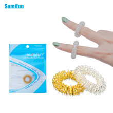 Hot Sale Finger Massage Ring Acupuncture Ring Health Care Body Massager Finger lose Weight Hand Massage Help Sleep C174(China)