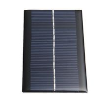 Mini 6V 1W Solar Power Panel Solar System DIY For Battery Cell Phone Chargers Portable Drop Shipping