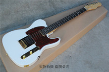 Factory sale Top Quality 6 string Telecaster white TELE Electric Guitar -17-11