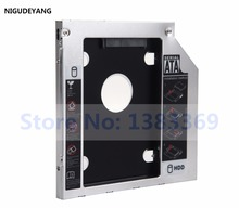 NIGUDEYANG 2nd Hard Drive Frame HDD SSD Caddy Adapter for HP ProBook 655 650 645 640 G1 G2
