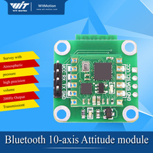 BJY901B MPU6050 angle output module 10-axis Accelerometer Gyroscope Bluetooth UART port IIC Atmospheric pressureFour-rotor(China)
