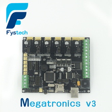 Free shipping 3D printer controller board Megatronics 3 firmware version integrates Marin 3D printer accessories