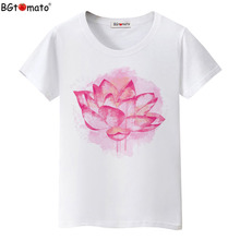 BGtomato Factory store original brand good quality clothes Super fashion cool T-shirts women wholesale tops drop shipping 234