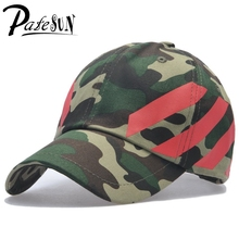 PATESUN Hot New Camouflage Baseball Caps Snapback Cap Women camo Dad Hats Men  Hockey motorcycle bone aba reta masculino