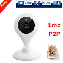 Mini WiFi 720P HD - Wireless IP Camera - Two Way Audio Home Security Network Camera Plug Play iPhone Mobile View Setup