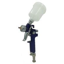 SAT1049 gravity feed paint gun pneumatic paint spray high pressure mini hvlp air spray gun