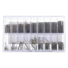 Superior 360PCS Stainless 6-23mm Watchmaker Watch Band Link Cotter Pins Tool Set Dec 12