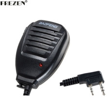 Baofeng Speaker Mic Handheld Microphone For Kenwood BAOFENG UV-5R BF-888S UV-3R+ Walkie Talkie Radio