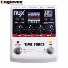 NUX TIME FORCE Multi Digital Delay Guitar Pedal 11 delay models include Tape, Analog and Reveres(Hong Kong,China)