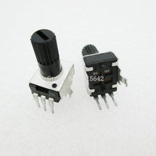5PCS/LOT RV09 B10K B103 Potentiometer Adjustable Resistance 12.5mm Shaft 3 Pins 0932 Vertical adjustable trim pot WH09(China)