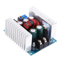Mayitr DC Step-down Converter 300W 20A Constant Current Adjustable Stable Step-down Voltage Regulator Module Buck With Heat Sink