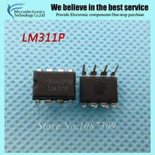 10PCS free shipping LM311P LM311 DIP-8 Comparators Diff Comparator new original(China)