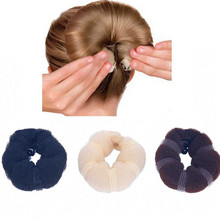 TOMTOSH 1PC girl magical style buns modeling tools wired hair rope head hair accessories(China)
