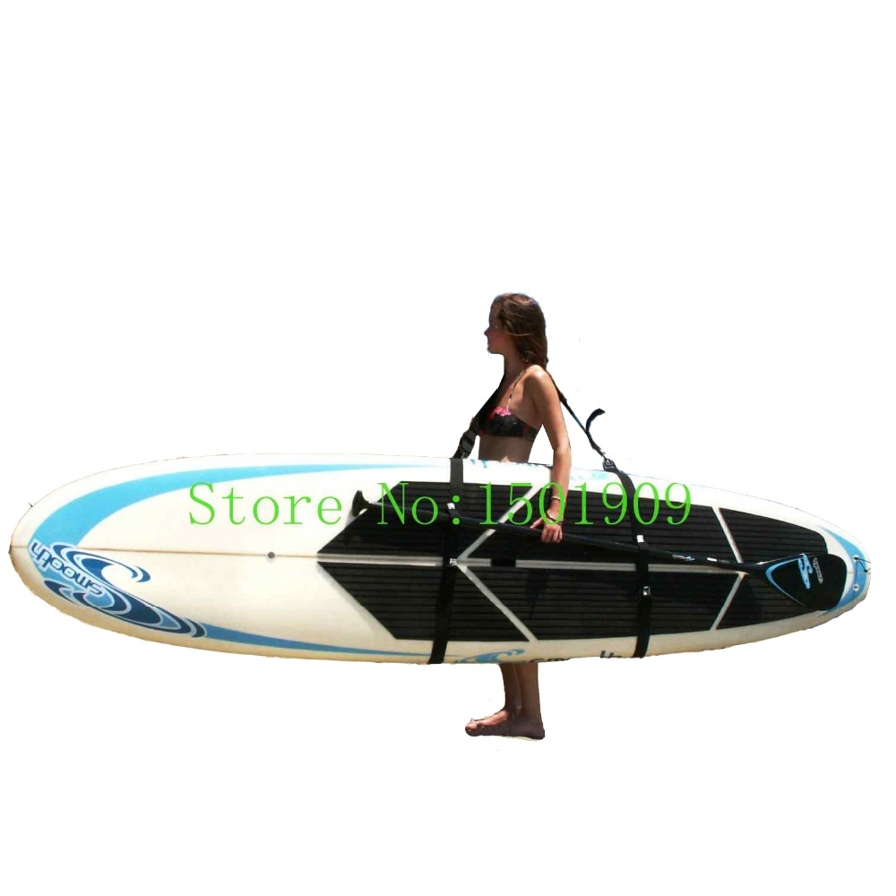 Adjustable Stand Up Paddleboard Carry Strap Sup Shoulder Sling paddle board Carrier Surf fins Surfboard wakeboard surfing kayak(China)