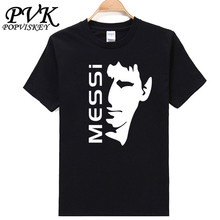 POPVISKEY brand t shirts men footballer star tops tees male new fashion casual cotton t shirt homme 2017 summer t shirt(China)