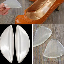 2 pairs Women Orthopedic Silicone Gel Arch Support Shoes Inserts Foot Insole Wedge Cushion Pads Free Shipping X-13015