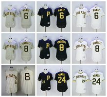 MLB PITTSBURGH PIRATES jerseys Willie Stargell Starling Marte Barry Bonds jersey(China)