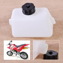 New White Gas Fuel Tank Oiler fit for 2 Stroke 43cc 47cc 49cc Mini Scooter Quad Dirt Pocket Bike ATV Scooter Bikes