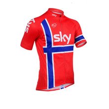 Hot! 2016 Team sky pro cycling jersey bike quick dry 100% Polyester Maillot Ropa Ciclismo cycle Breathable MTB clothing K1504