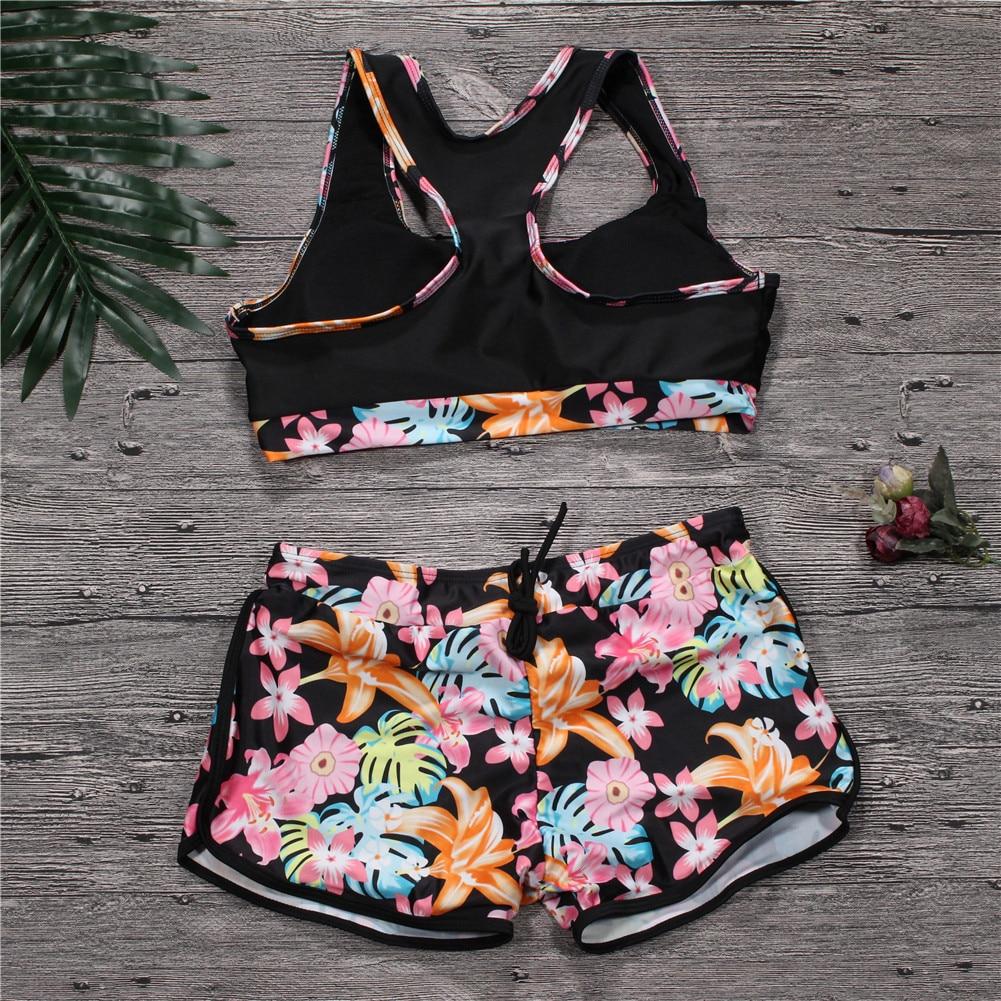 91bff4882d Swimwear 2018 Sexy Swimsuit Women Plus Size Tankini Sets Swim Vintage Beach  Wear Bathing Suits Female Bandage Swim Suit Trunks