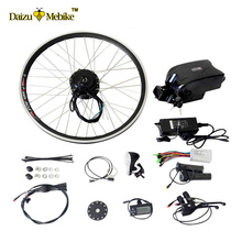 "20""-700C(28"") wheel 36V 10AH Frog Battery E Bicycle Conversion Kit 500W Brushless Gear Front Hub Motor Kit"